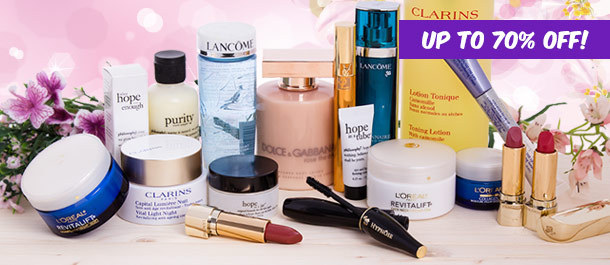 Clarins, YSL, Lancôme & More Up To 70% Off @ Catch Of The Day