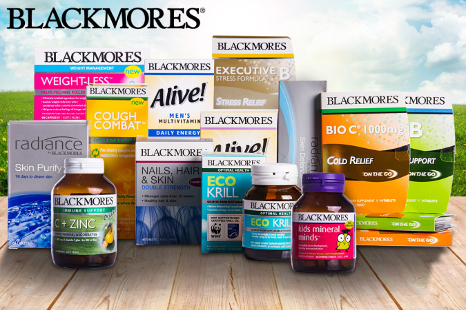 Save Up to 80% OFF Blackmores Vitamins + New Range Just Added @ CatchoftheDay.com.au