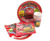 Chuggington 40-Piece Disposable Party Pack