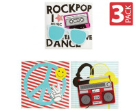 Universal Rock Canvases 3-Pack