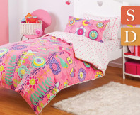 Jinx Kids Little Bird Quilt Cover Set