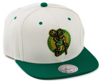 Mitchell & Ness Celtics Cap - Cream/Green