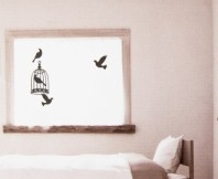 Black Bird 2 Decorative Wall Decal