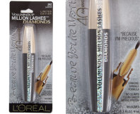 L'Oreal Voluminous Million Lashes Mascara Black Diamonds 9mL