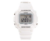 Casio Men's Classic Digital Sport Watch - White