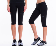 Nike Women's Filament Capri Tights - Black