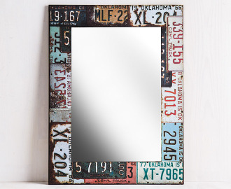 Registration plates 60 x 45cm wall for Mirror 45 x 60