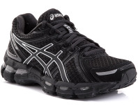 ASICS Women's Gel-Kayano 19 - Black/Onyx/Lightning