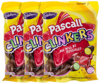 3x Pascall Clinkers 140g
