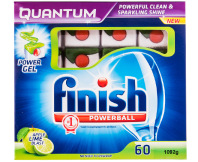 Finish Quantum Power Gel Apple-Lime Blast 60pk