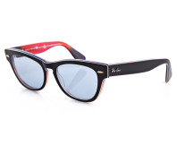 Ray-Ban Laramie Sunglasses - Black/Blue/Orange