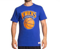 Mitchell & Ness New York Knicks Tee - Navy