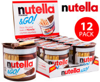 Nutella & Go Hazelnut Spread + Breadsticks 12pk 52g