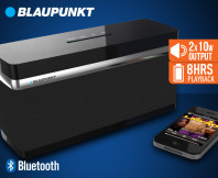 Blaupunkt Voss Rechargeable Bluetooth Wireless Speaker