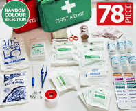 78 Piece Emergency First Aid Kit