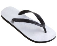 Havaianas Traditional Sandal - Black/White