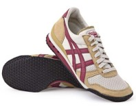 Onitsuka Tiger Women's Ultimate 81 - Greige Burgundy