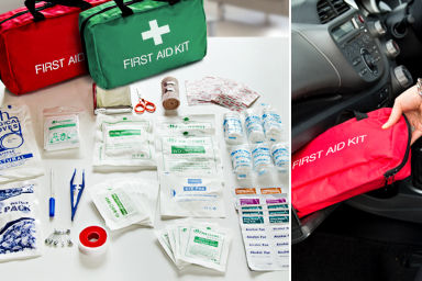 78-Piece Emergency First Aid Kit