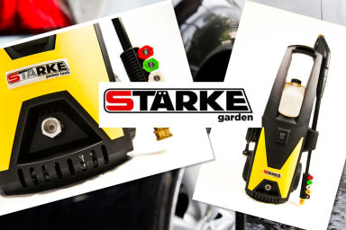 Starke 1800W High-Pressure Cleaner!