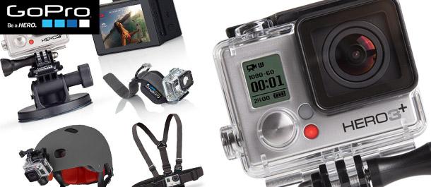 GoPro HERO3+ Silver & Accessories!