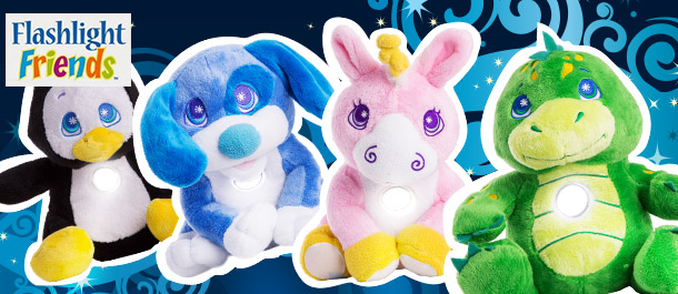 Flashlight Friends Huggable Torches
