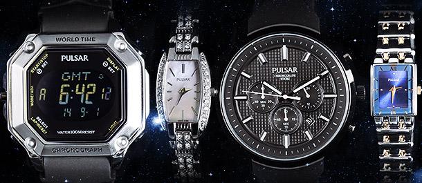 Pulsar Watches for Men & Women