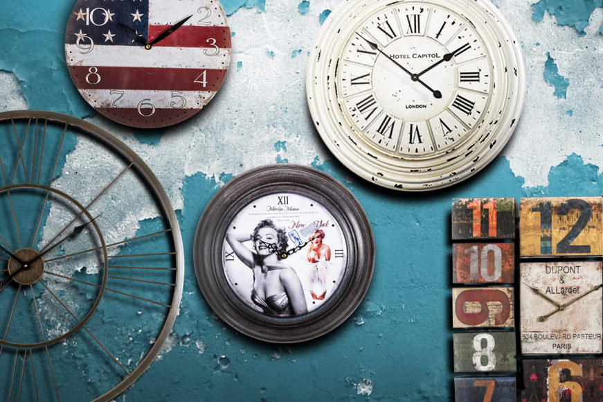 About Time - Vintage-Inspired Clocks!