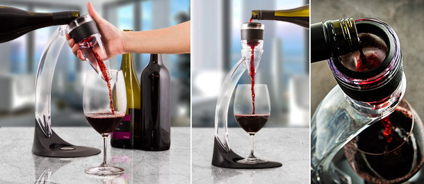 Deluxe Wine Aerator & Tower Set