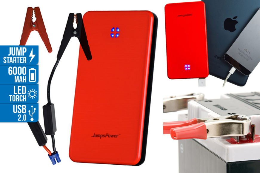 JumpsPower AMG6 Pocket Jump Starter!