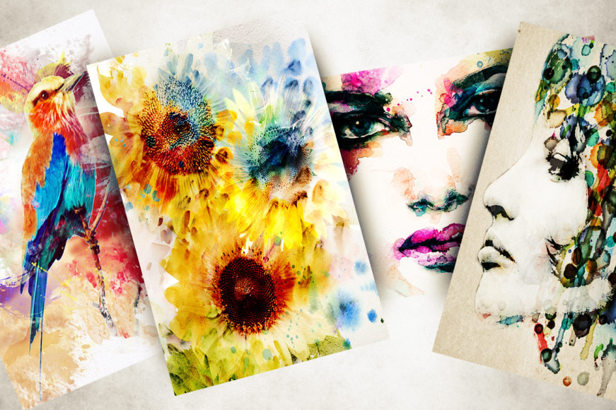 Eclectic Canvas Wall Art Collection