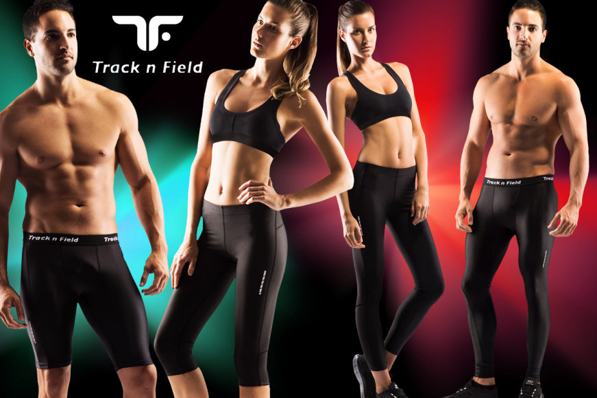 Track n Field Compression Tights