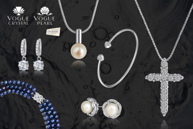 Vogue Jewellery W/ Swarovski Elements & Pearls!