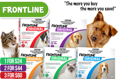 Up To 50% Off Frontline Original Multipacks!