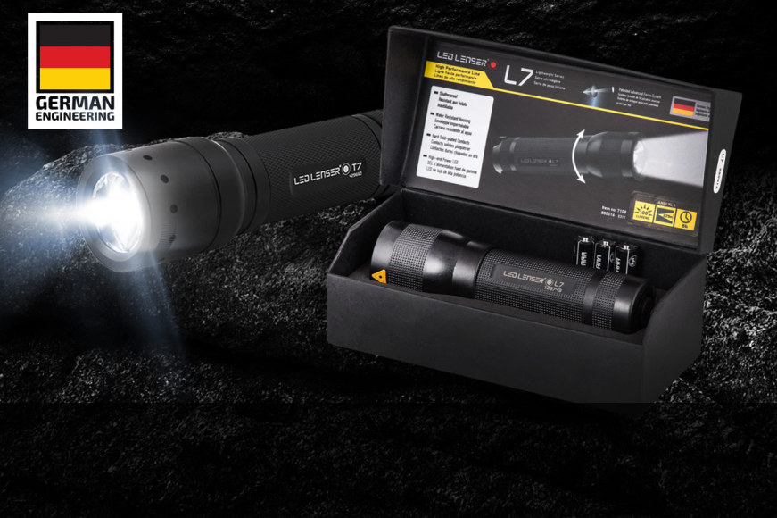 LED Lenser Torches & Headlamps