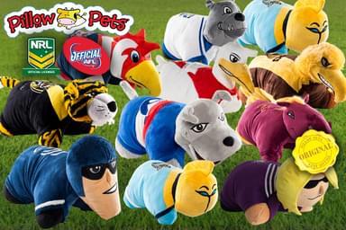 AFL & NRL Pillow Pets