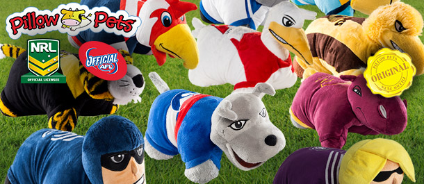 AFL & NRL Pillow Pets