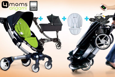 4moms Origami Stroller Value Bundle