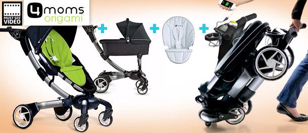 4moms Origami Stroller Value Bundle