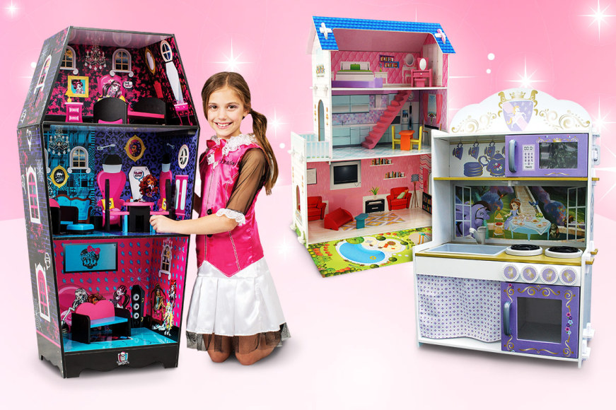 Doll Houses & Kitchen Playsets