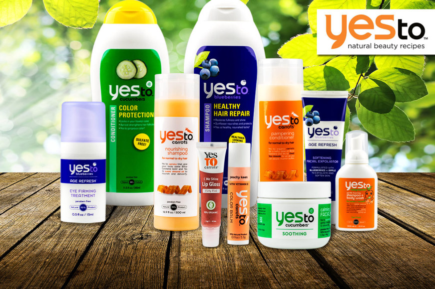 Yes To Carrots Haircare, Skincare & Cosmetics