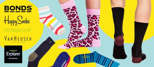 Big Brand Socks for Men & Women