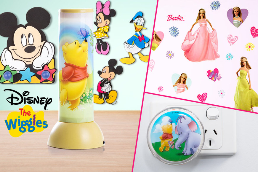 Disney Night Lights, Wall Decals & More