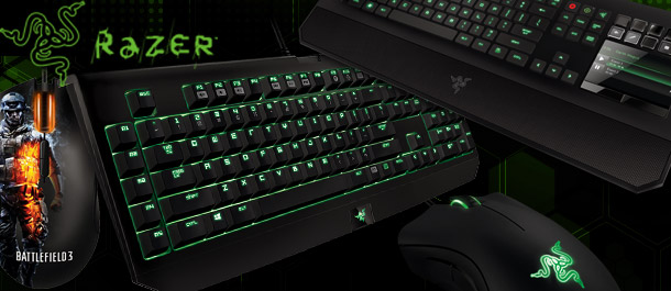 Razer Gaming Keyboards & Mouse