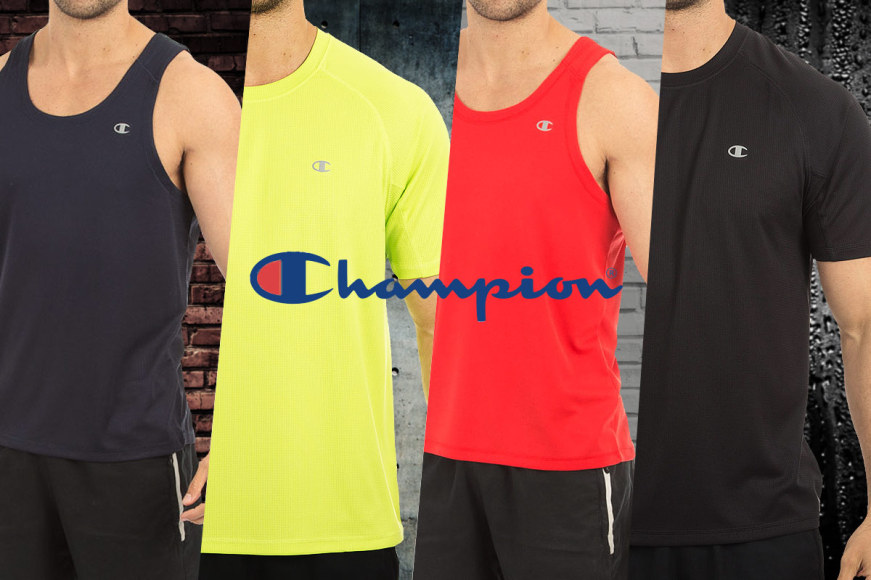 Champion Men's Performance Tees & Tanks