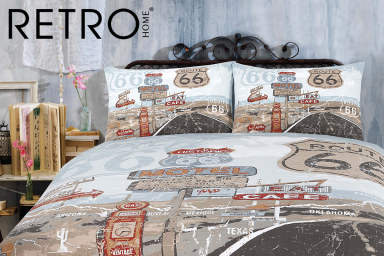 Retro Quilt Cover Sets
