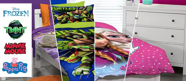 Licensed Quilt Cover Sets For Kids
