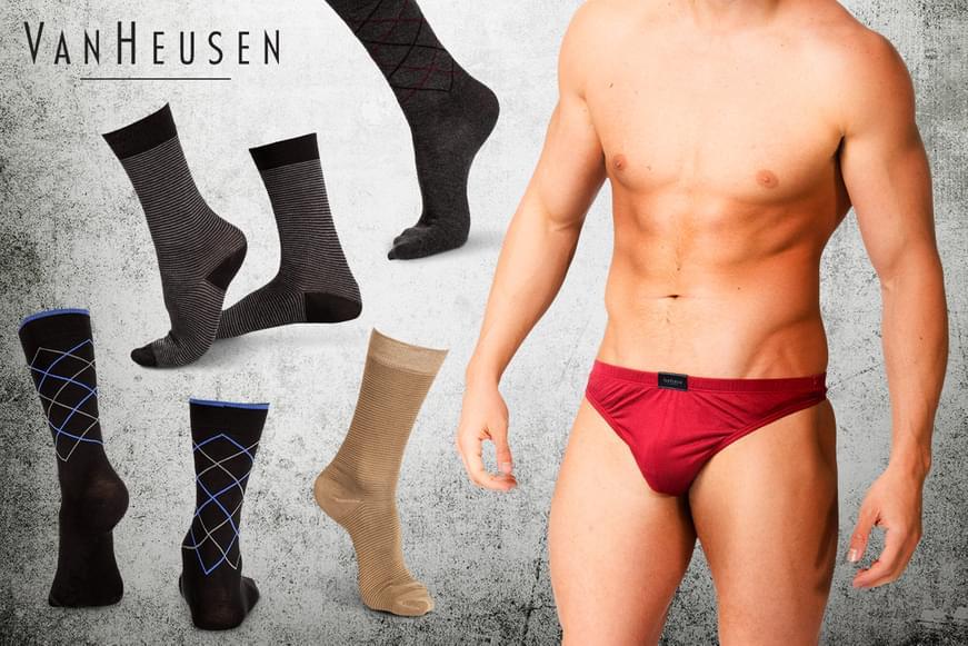 Van Heusen Socks & Silk Underwear