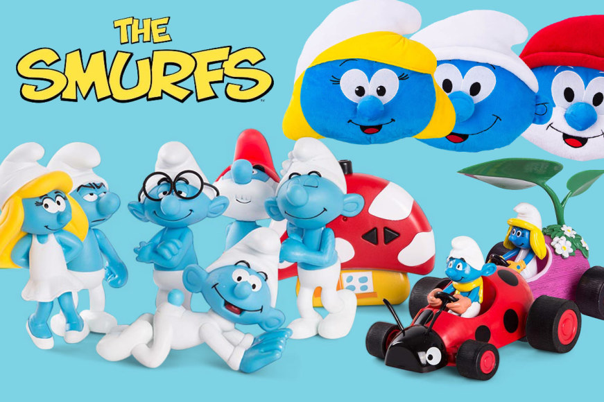 The Smurfs Licensed Products