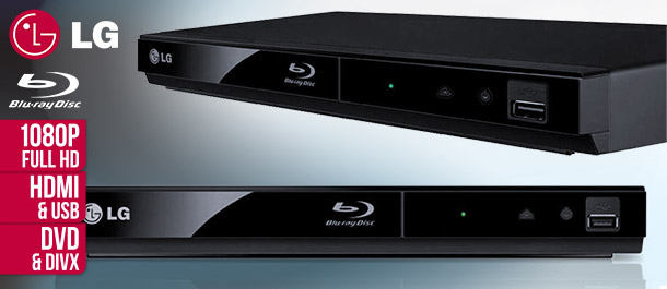 LG BP125 Full HD Blu-Ray & DVD Player
