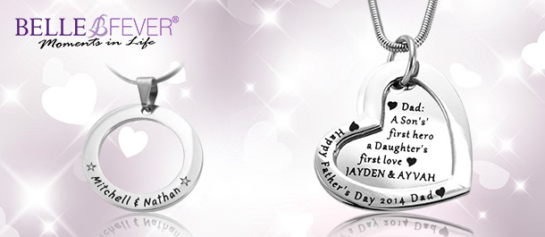 Stylish Personalised Necklaces